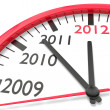 Royalty-Free Stock Photo: The clock of the years