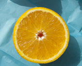 Sliced ​​orange — Stock Photo