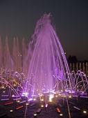 Sjungande färgglada fontän i tsaritsyno, moskva — Stockfoto