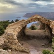 Castle Monolithos - Stock Photo