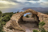 Castle Monolithos — Stock Photo