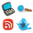 Plasticine icon — Stock Photo #6076771