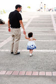 Father and daughter together — Stock Photo