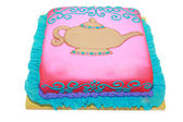 Arabic theme birthday cake in blank — Stock Photo