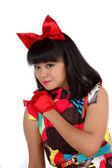 Joven asiática atractiva — Foto de Stock