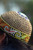 印度尼西亚典型章从柳条作饰珠 — 图库照片