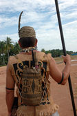 Backpacks tribal Borneo Indonesia — Стоковое фото