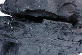 подробная текстура угля — Стоковое фото