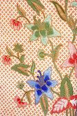 Detailed patterns of indonesian batik cloth — Stock Photo