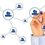 Social network concept. — Stock Photo