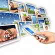 Multimedia concept. - Stockfoto