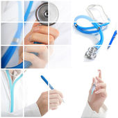 Collage. Medical concept. — Stock Photo