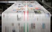 Stampa offset di tendenza — Foto Stock