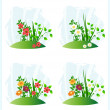 Nature scenes — Stock Vector #6118518