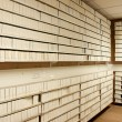 Stock Photo: Microfilm archives interior