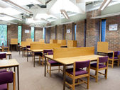 University library study area — Stock Photo