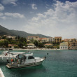 Assos harbour — Stock Photo