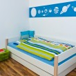 Childrens Playroom with bed — Stock Photo #5713740