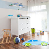 Modern childrens playroom — Stock Photo