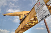 Old crane — Stock Photo