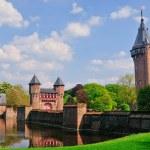 Medieval castle de Haar, Netherlands — Stock Photo #5419312