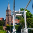 Maxima Bridge In Village Marken - Stock Photo