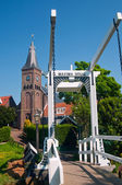 Maxima Bridge In Village Marken — Stock Photo