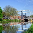 MaximBridge In Village Marken — Stock Photo #5589354
