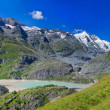 Panorama Dam Wall Of Kaprun Power Plant, Austria — Stock Photo