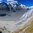 Glacier on Grossglockner. Austria. Panorama — Stock fotografie