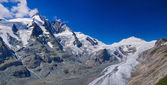 Glacier on Grossglockner. Austria. Panorama — Stock Photo