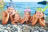 Ready To Snorkle — Stock Photo