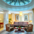 Living room interior in the hotel — Foto Stock
