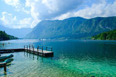 Lake Bohinj. Slovenia — Stock Photo