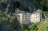 Predjama Castle in Postojna, Slovenia — Stock Photo