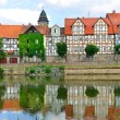 Idyllic city Hann Munden in Germany — Stock Photo #6569730