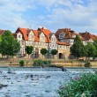 Idyllic city Hann Munden in Germany — Stock Photo