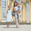 Tourists walking in Sans Souci — Stock Photo #6682014
