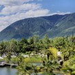 Постер, плакат: Botanical garden of Merano