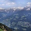 Passeier Valley and Sarntal Alps - Stock Photo