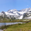 Rast at mountain lake in Alps — Stock Photo #5539964
