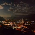 Merano at full moon — Stock Photo #5563167