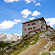 Stock Photo: The Kassel Hut in South Tyrol
