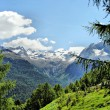 Stock Photo: Mountain scenery