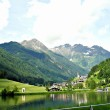 The small pond by Muehlwald, Italy — Stock Photo #5608114