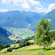 View in the Tauferer Ahrntal — Stock Photo