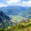 View in the Ahrntal in South Tyrol — Stock Photo