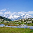Klaussee in Ahrntal, Italy — Stock Photo #5608303