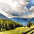 Alpine pastures in Italy — Stock Photo #5608320