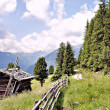 Alpine idyll in South Tyrol — 图库照片
